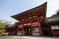 Tsurugaoka Hachimangu shrine, Kamakura, Japan Royalty Free Stock Photo