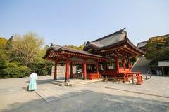 Tsurugaoka Hachimangu shrine Kamakura, Japan Stock Image