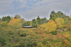 Tsutenkyo Bridge at Tofukuji Temple Royalty Free Stock Image