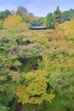 Tsutenkyo Bridge at Tofukuji Temple Stock Photo