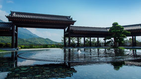 Tsz Shan Monastery, Chinese Garden. Hong Kong Royalty Free Stock Photography