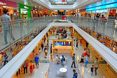 Tsz wan shan shopping mall, hong kong. Activities of visitors at the tsz wan shan shopping mall in hong kong Stock Photo