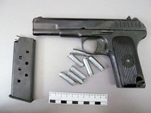 TT pistool Stock Fotografie