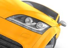 TT van Audi het Element van de Koplamp Stock Foto