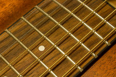 täta gitarrrader upp Arkivbilder