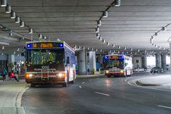 TTC connection with Pearson International Airport Stock Photography