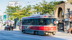 TTC Streetcar. Public Transportation in Toronto Stock Photo