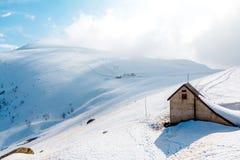 Tte del ¼ dello sci HÃ in alpi Immagini Stock Libere da Diritti