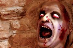 Tête effrayante Photo stock