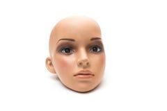 Tête effrayante de poupée Images stock