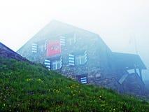 Tte för ¼ för fihà för ¼ för bergkoja Hà eller SÄCK för tte för ¼ för HÃ-¼fihÃ, 2334 M Ã-¼ M royaltyfria bilder