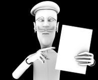 Tteacher demand critical attention on certain book Royalty Free Stock Photos