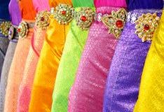 Tthai dance dress Stock Photography