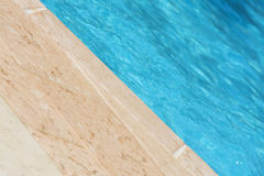 Tthe swimming pool Stock Images