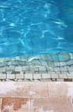 Tthe swimming pool Royalty Free Stock Photos