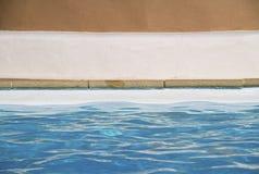 Tthe swimming pool Royalty Free Stock Photo