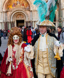 Tthe Venetian carnival 2015 Royalty Free Stock Photography