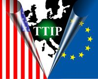 TTIP Royalty Free Stock Photography
