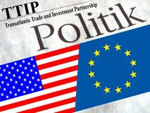 TTIP Royalty Free Stock Photo