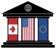 TTIP CETA Trade Agreement Stock Image