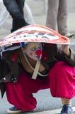 TTIP-SPIEL ÜBER Aktivisten in der Aktion während einer allgemeinen Demonstration Lizenzfreie Stockfotos
