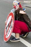 TTIP-SPIEL ÜBER Aktivisten in der Aktion während einer allgemeinen Demonstration Stockfoto