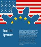 TTIP - Transatlantic Trade and Investment Partnership Stock Photos