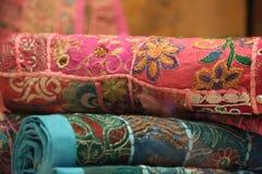 Ttraditional orientalisk gobeläng Royaltyfri Fotografi