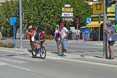 TTT Rider La Vuelta España Photos libres de droits