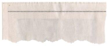Título de periódico Foto de archivo libre de regalías