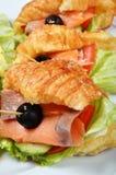 Tuńczyk kanapki Obraz Royalty Free