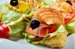 Tuńczyk kanapki Zdjęcia Royalty Free
