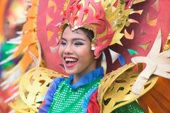 Tuńczyka festiwalu Santos miasto ogólnie Filipiny fotografia royalty free