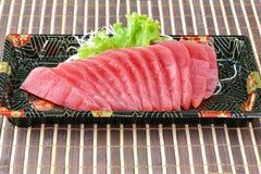 Tuńczyka sashimi, surowa ryba - japoński jedzenie styl Zdjęcia Stock