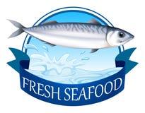 Tuńczyka sztandar ilustracji