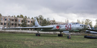 TU-16, μεγάλης ακτίνας βομβαρδιστικό αεροπλάνο, 1952 Στοκ φωτογραφία με δικαίωμα ελεύθερης χρήσης