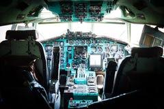 TU-154 ογκώδες σοβιετικό επιβατικό αεροπλάνο μεσαίας ακτίνας Στοκ Εικόνες