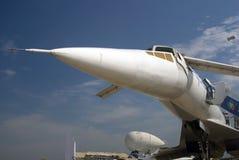 TU-144 στο διεθνές αεροδιαστημικό σαλόνι MAKS Στοκ φωτογραφίες με δικαίωμα ελεύθερης χρήσης