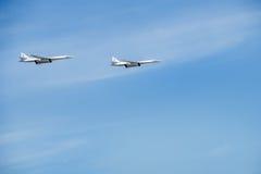 Tu-160 (белый лебедь) Стоковое фото RF