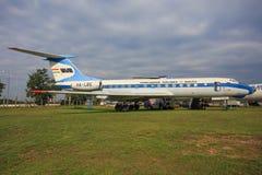 TU 134 库存照片