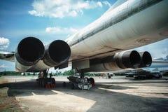 Free Tu-160 Supersonic Strategic Bomber, Museum Exhibit Poltava Ukraine Royalty Free Stock Images - 165325409