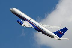 Tu-214 Royalty Free Stock Images