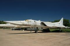 Tu 22 en la pista de despeque Fotos de archivo