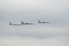 Tu-22M3 bombers Stock Photography