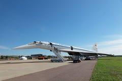 Tu-144 zdjęcie stock