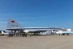 TU-144 Στοκ Φωτογραφίες