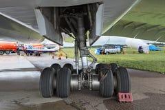 Tu-144 obrazy stock