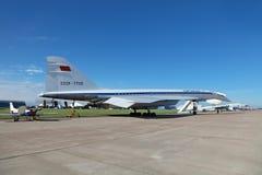 TU-144 Στοκ Εικόνες
