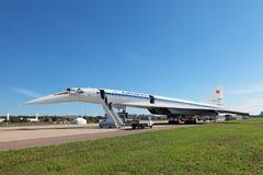 Tu-144 fotografia stock