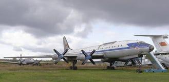 Tu-114 stockfotos